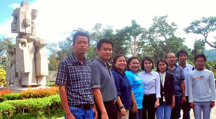 New SEARCA scholars at UPLB for 2nd Semester 2014-2015