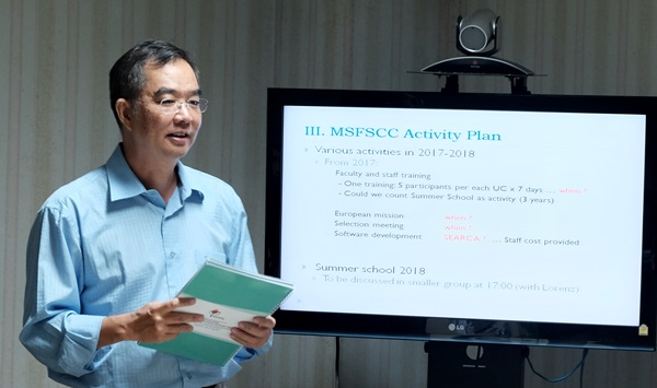 University Consortium holds Regional Workshop on MS Food Security and Climate Change