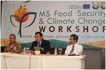 IPB, SEARCA and European Consortium in World's Food Security and Climate Change Master Programme Curriculum Arrangement