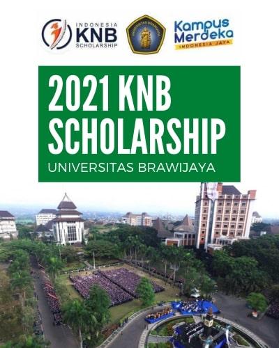 2021 KNB Scholarship - Universitas Brawijaya